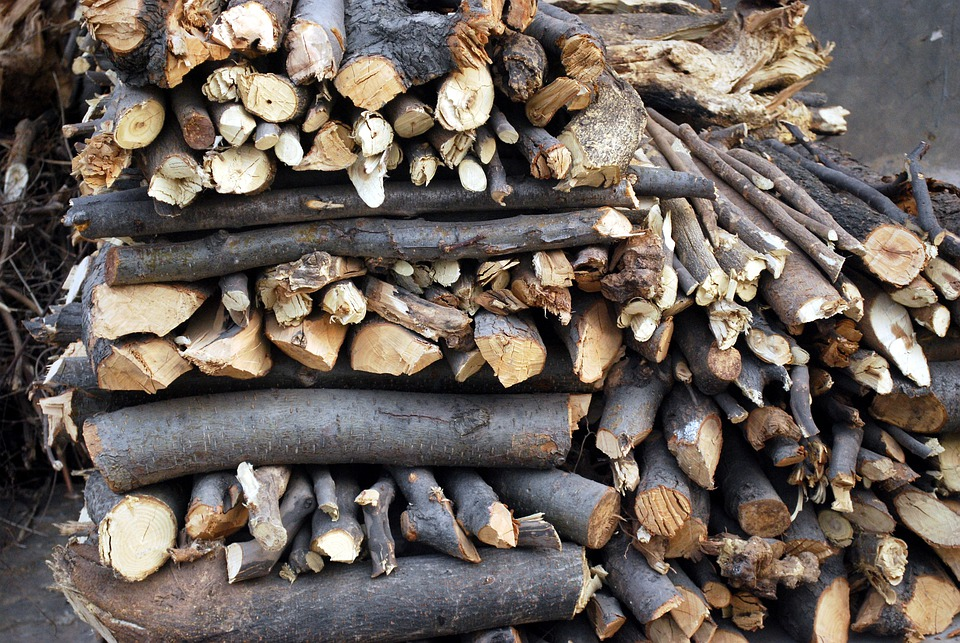 Woodpile, Firewood, Stacked, Stack, Pile, Seasoned