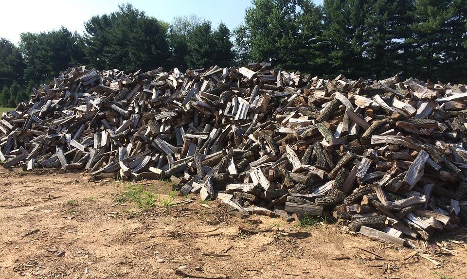 Firewood, Woodpile, Timber