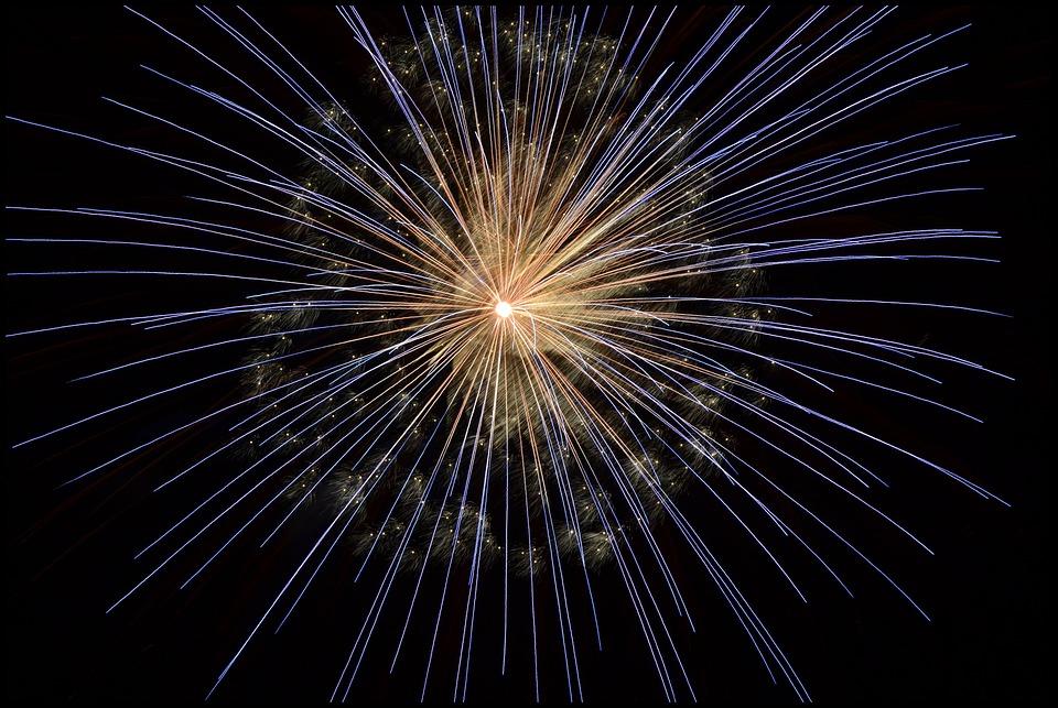 Fireworks, New Year's Eve, Bright, Light, Firework