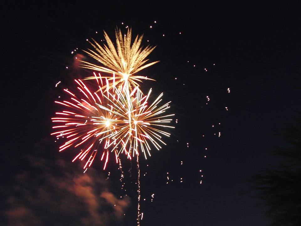 Fireworks, Celebrate, July 4th, Explode, Party