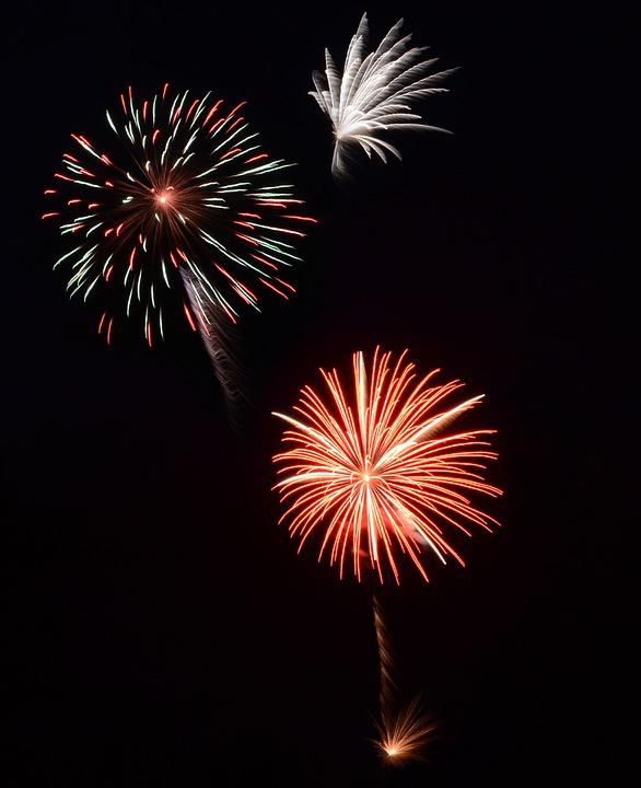 Fireworks, July 4th, Independence, Celebration, July