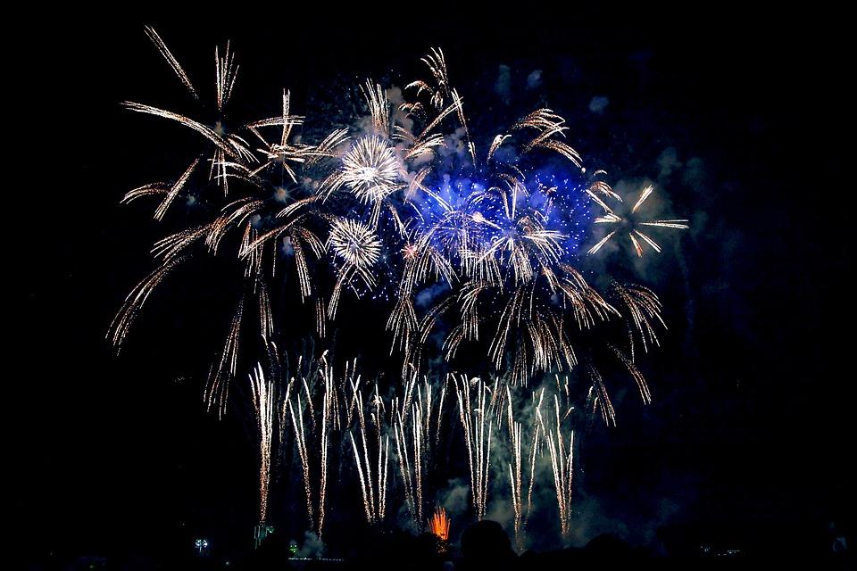 Fireworks, Fireworks Display, Chofu, Night, Hanabi