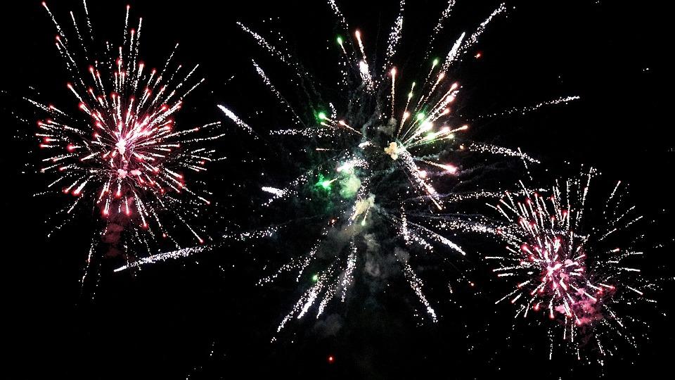 Fireworks, Rockets, Celebration, Fire, Festival
