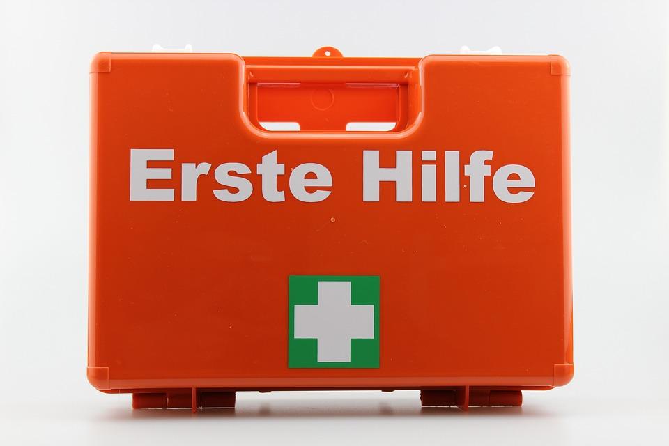 First Aid Kit, German, Austria, Germany, Switzerland