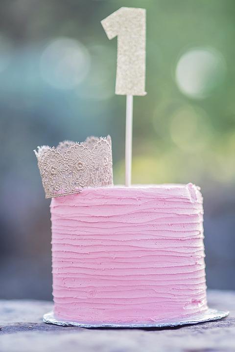 Cake Smash, Birthday, Cake, First, Party, Child, Baby