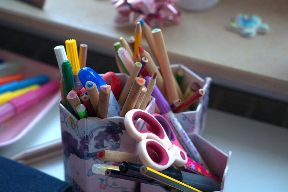 Office, First Class, School Enrollment, Education, Pens