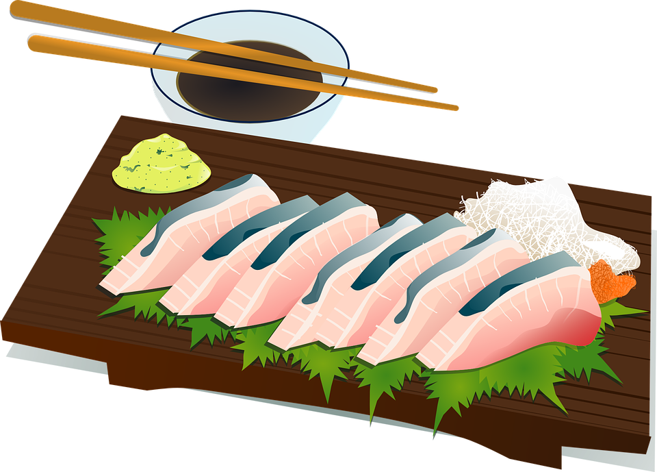 Sushi, Chopsticks, Culture, Fish, Raw, Salmon, Food