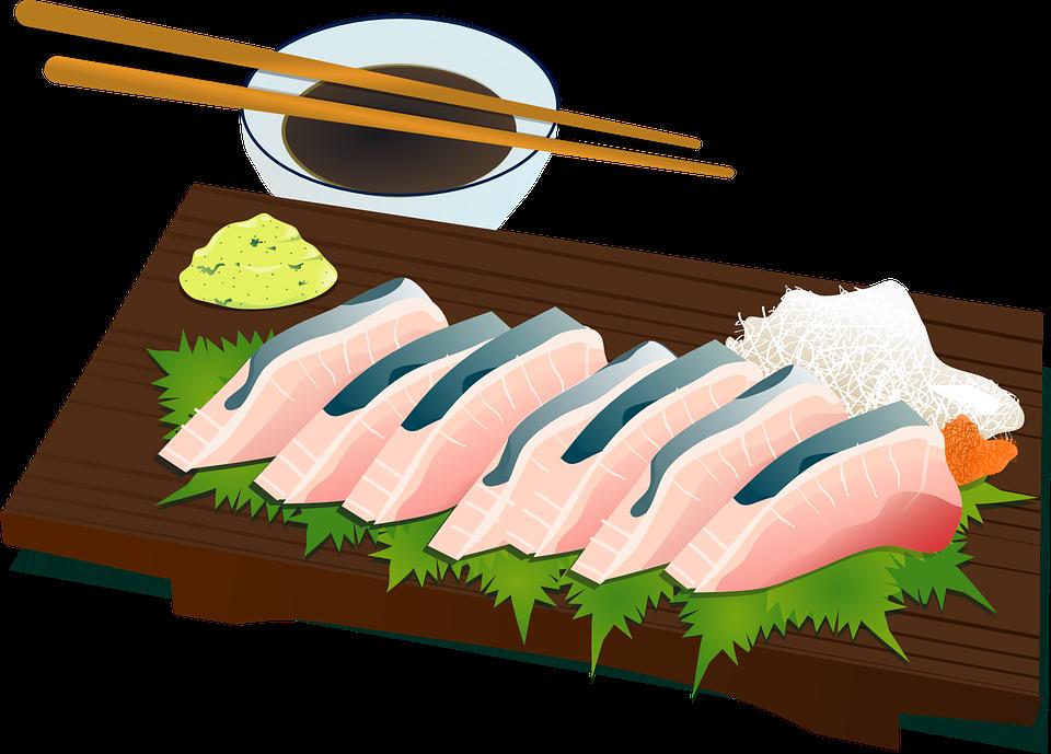 Sushi, Chopsticks, Culture, Fish, Raw, Salmon, Food