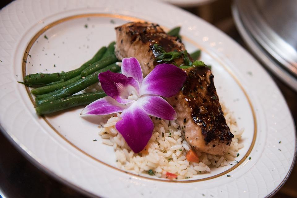 Salmon, Asparagus, Food, Meal, Fish, Dinner, Cuisine