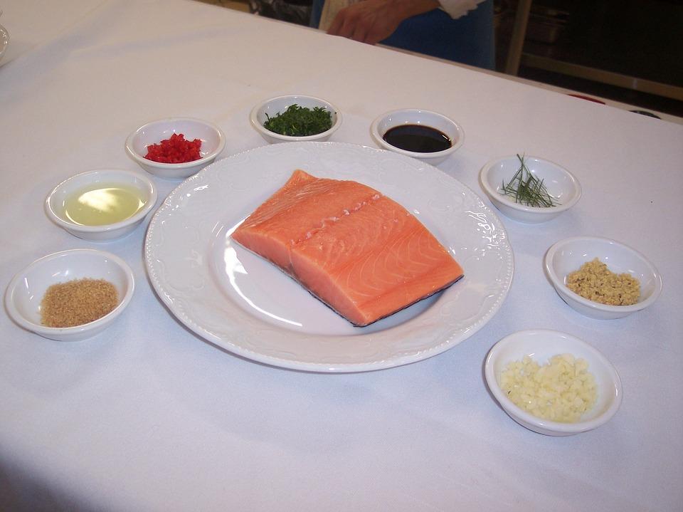 Food, Fish, Healthy, Kitchen