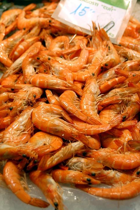 Prawns, Seafood, Gourmet, Shellfish, Fish, Shell, Eat