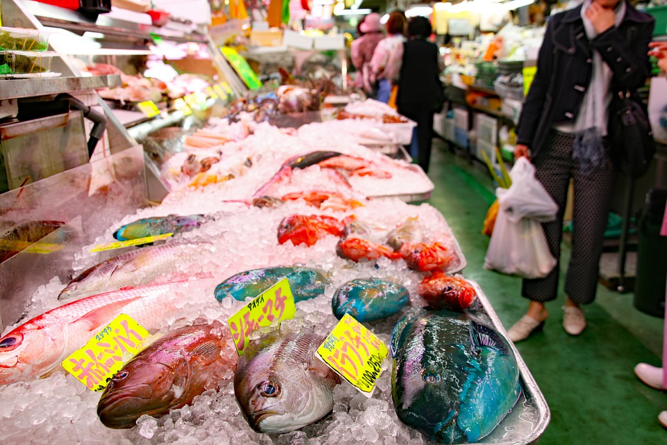 Okinawa, Fish, Market, Japan, Makishi, Public, Glossary