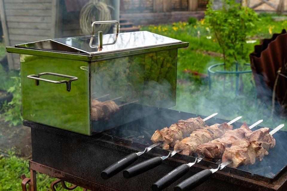 Shish Kebab, Meat, Mangal, Skewers, Smokehouse, Fish