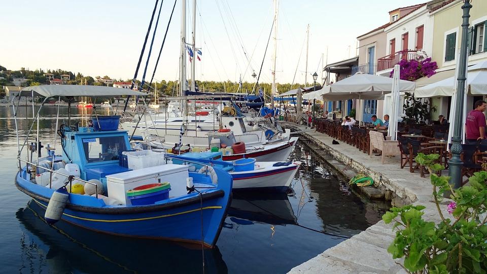 Greece, Kefalonia, Fiscardo, Boats, Fisher, Harbor