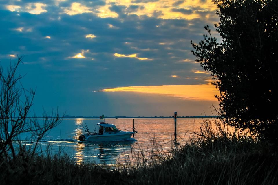 Cloud, Great, Boat, Fishermen