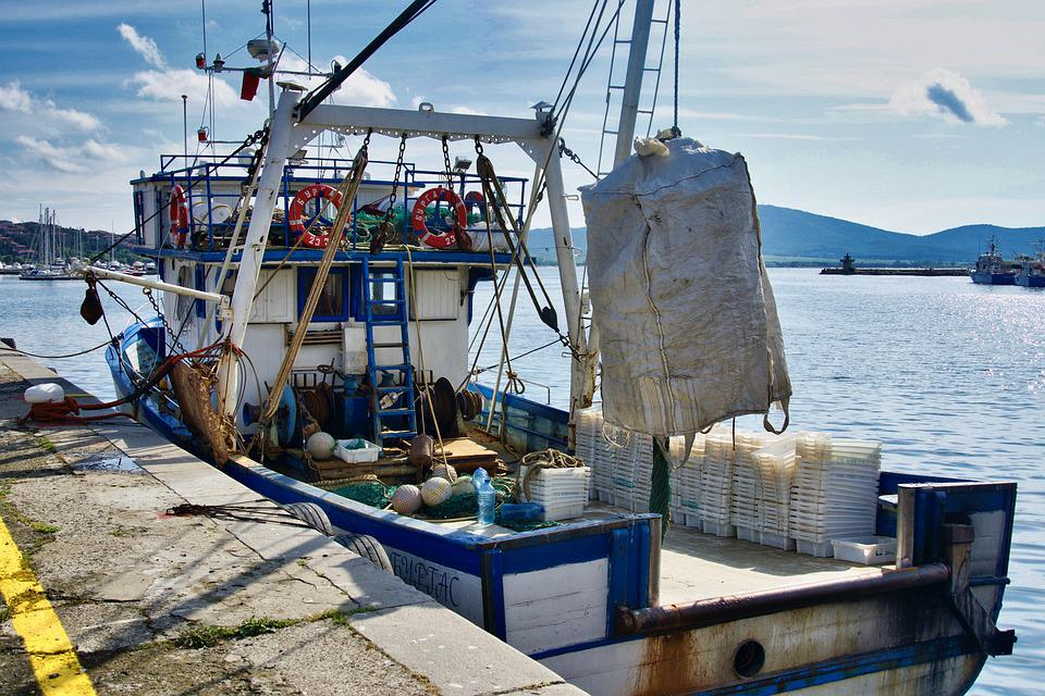 Fishing Boat, Angling, Catch, Boating, Ocean, Sea