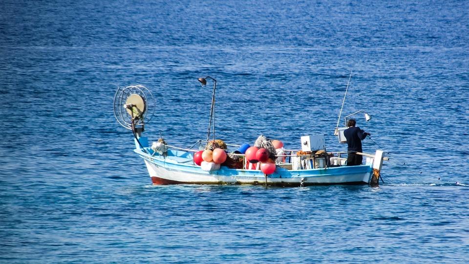 Cyprus, Xylofagou, Fishing, Boat