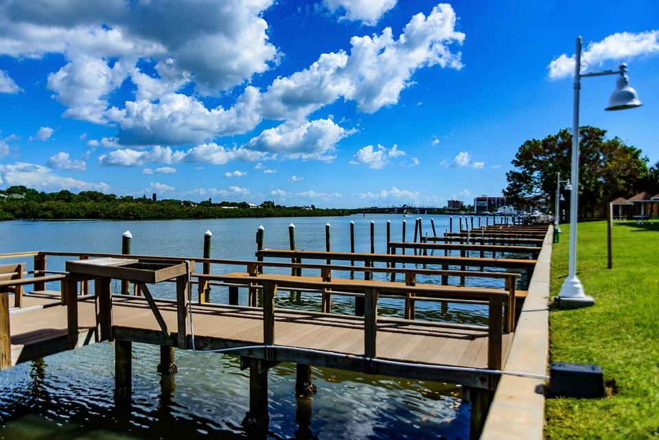 Dock, Pier, Water, Ocean, Family, Nature, Fishing, Deck