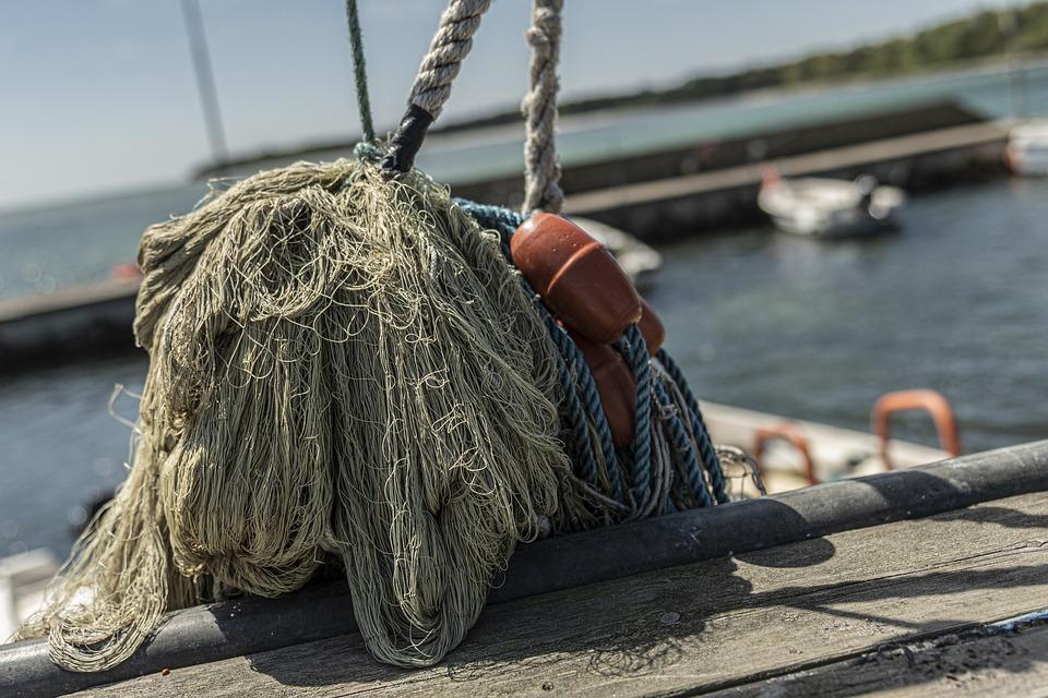 Port, Fishing, Sea, Water, Networks, Fishing Net, Fang