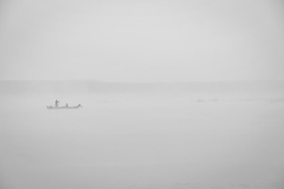 Fishing, Fog, Mystery