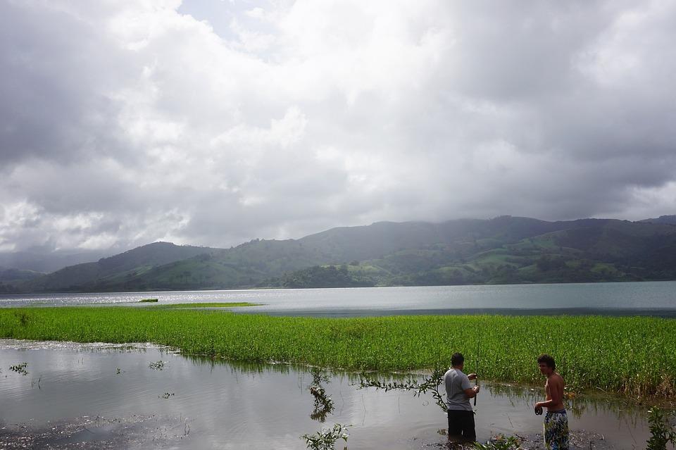 Lake, Fishing, Sky, Nature, Water, Rod, River, Leisure