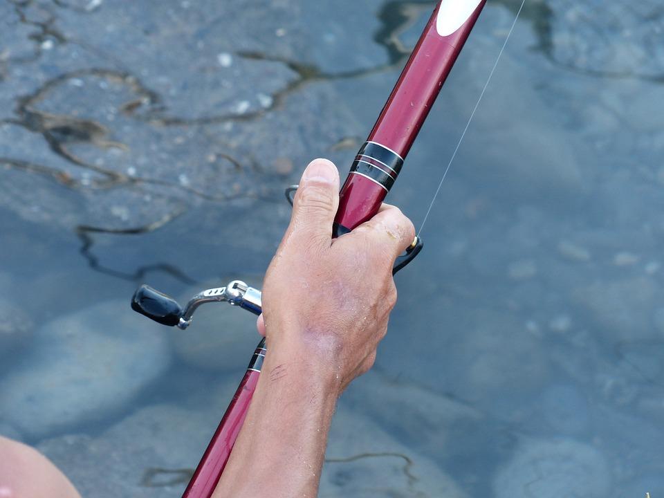 Angel, Angler, Telescopic Rod, Fishing Line