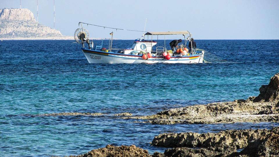 Cyprus, Ayia Napa, Fishing Boat, Fishing, Mediterranean