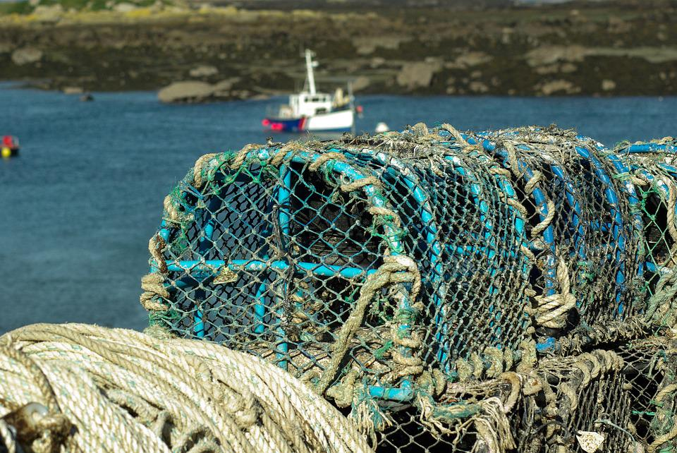 Normandy, Chausey Islands, Fishing, Rope, Fishing Port