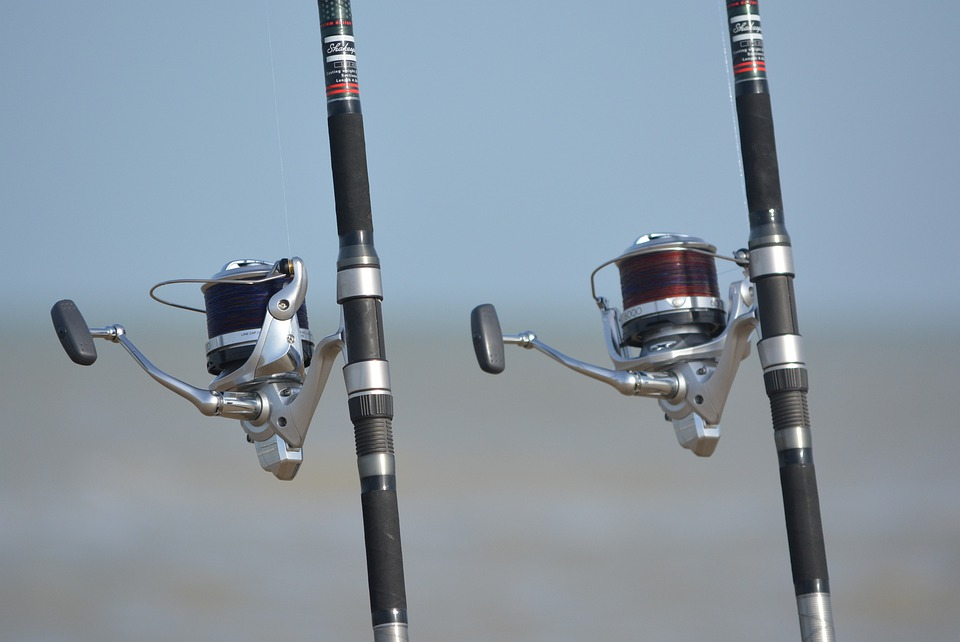 Fishing Rod, Mill, Sea