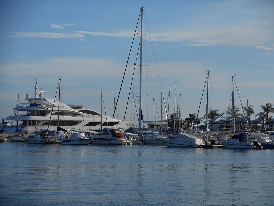 Boat, Port, Sea, Beach, Spring, Yacht, Fishing