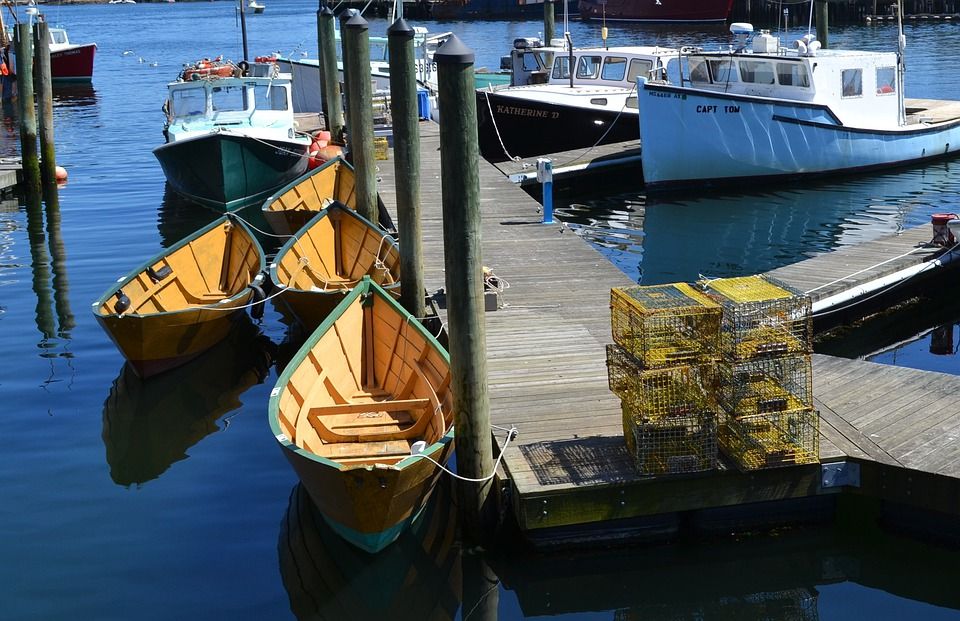 Pier, Dock, Boats, Fishing, Water, Sea, Tourism