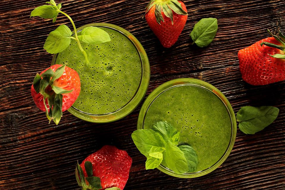 Fit, Health, Diet, Green Cocktail, Detox, Energy