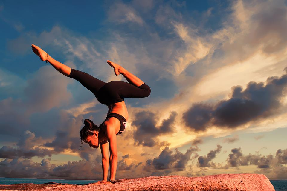 Yoga, Exercise, Body, Healthy, Fitness, Female, Woman