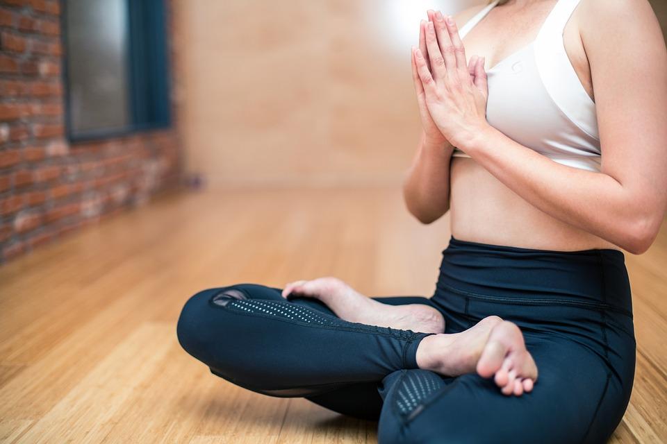 Yoga, Exercise, Fitness, Woman, Health, Strength, Body