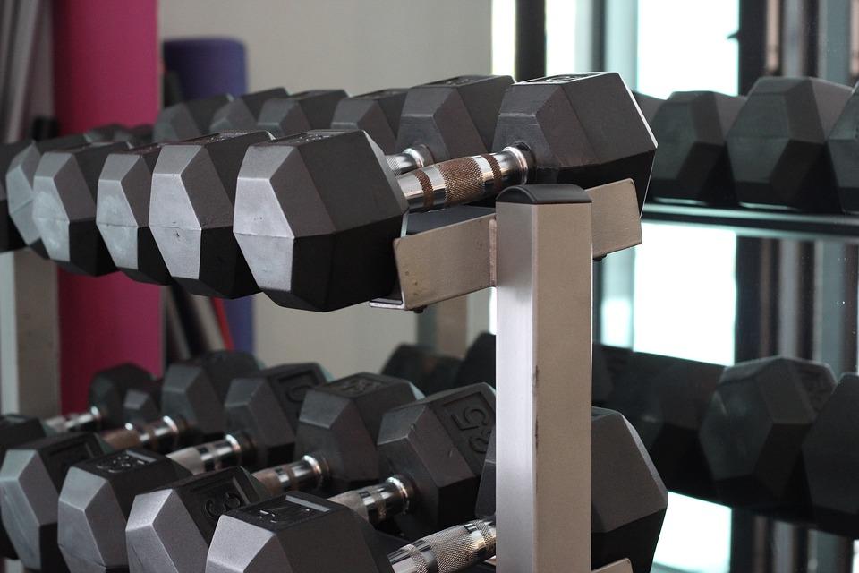 Dumbbells, Fitness, Gym