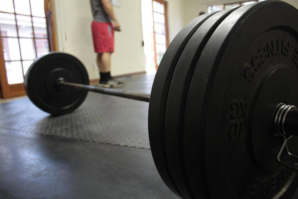 Gym, Barbell, Training, Exercise, Fitness