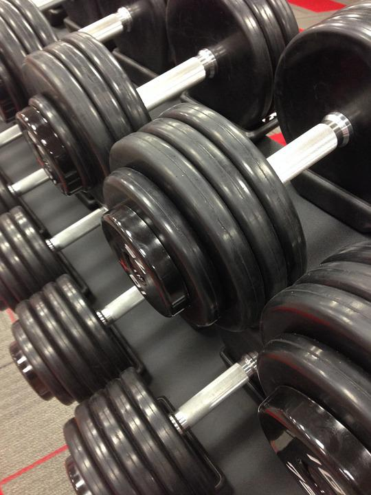 Weights, Workout, Exercise, Fitness, Lift, Barbell