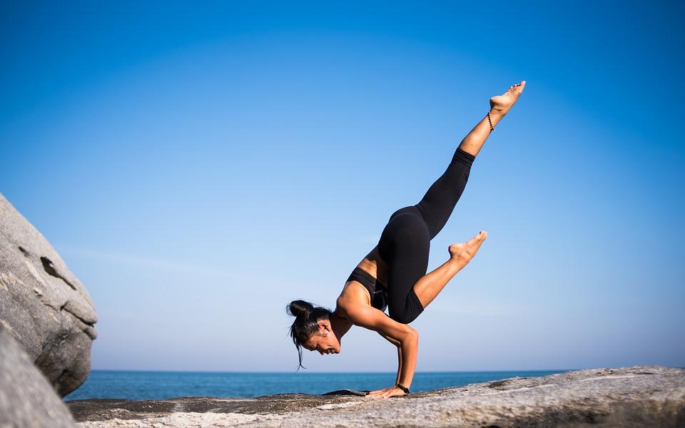 Yoga, Strength, People, Woman, Meditation, Fitness