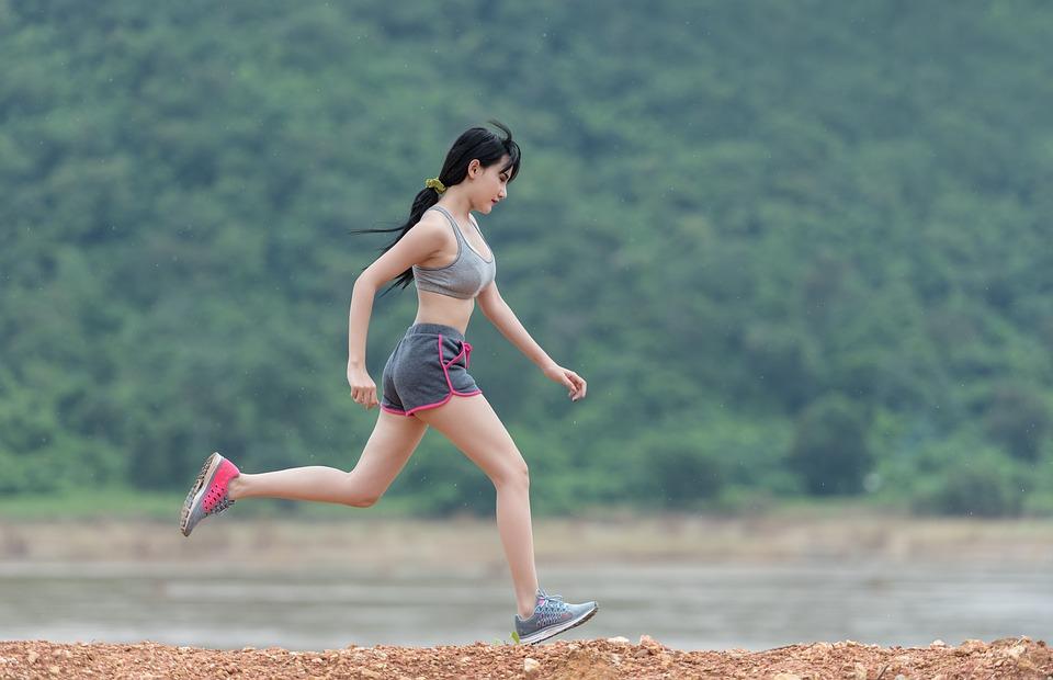 Woman, Running, Run, Fitness, Sports, Outdoor