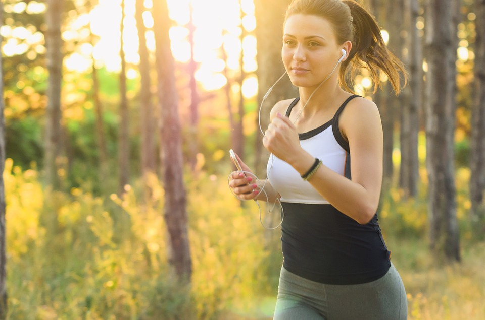 People, Woman, Exercise, Fitness, Jogging, Running
