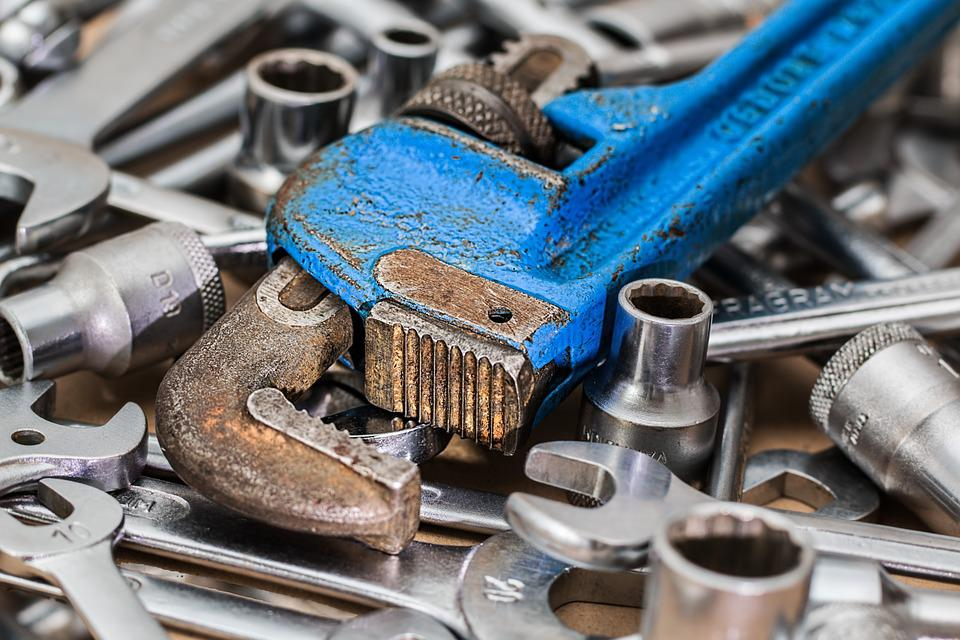 Wrench, Spanner, Repair, Fix, Toolbox, Service, Work