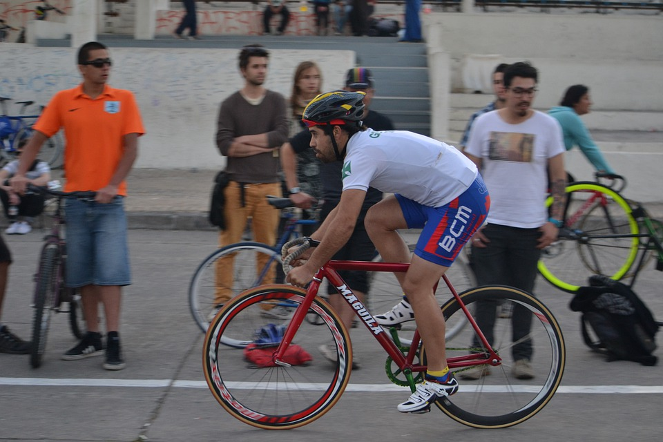 Santiago, Fixed Gear, Fixie, Bicycle, Bike