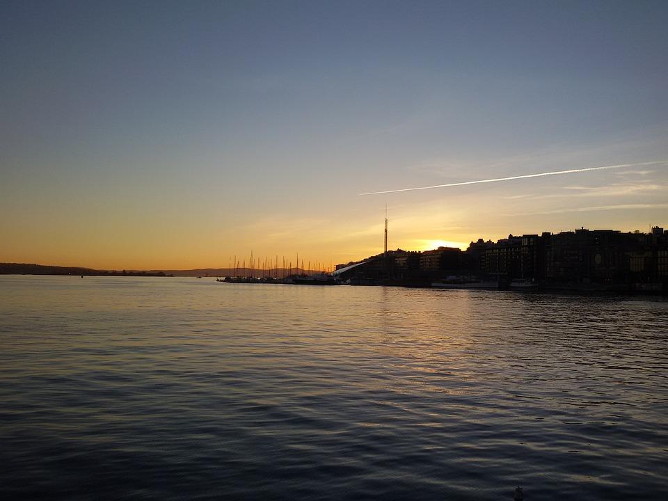 Oslo, Sea, Norway, City, Fjord, Scandinavia, Water
