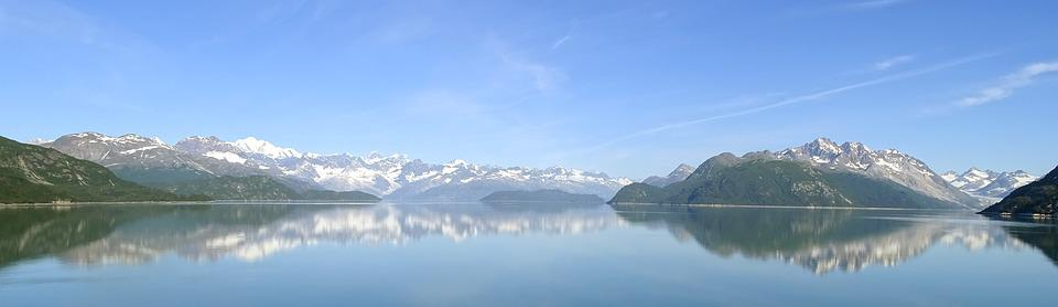 Snow, Nature, Winter, Ice, Panoramic, Fjord, Scenic