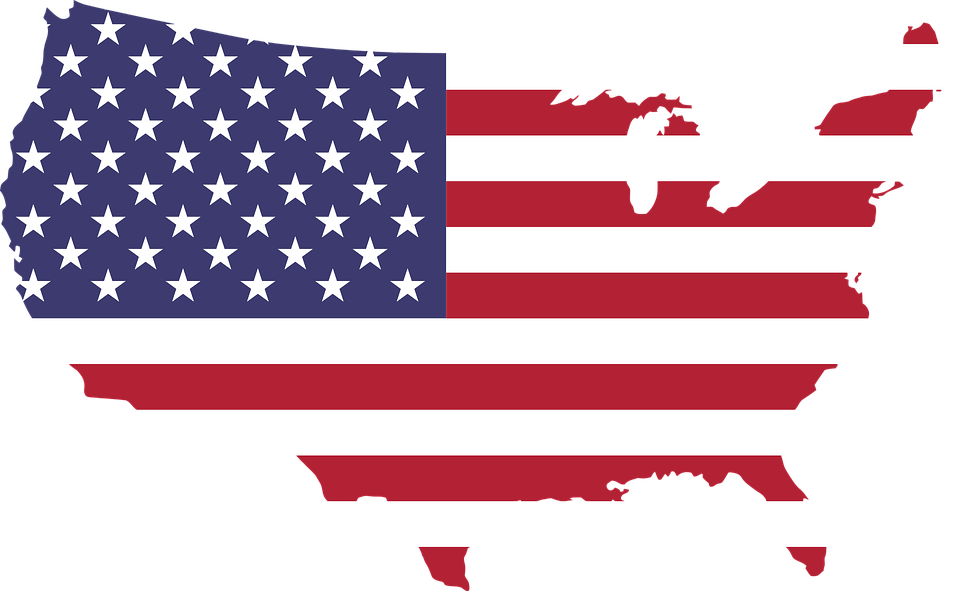 America, Art, Borders, Cartography, Country, Flag