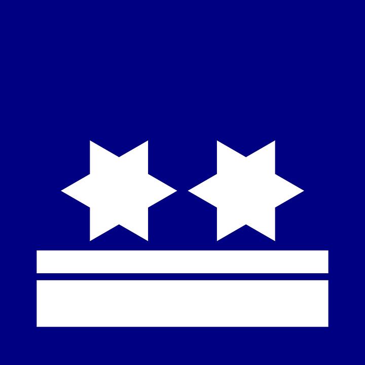 Star, Flag, Blue