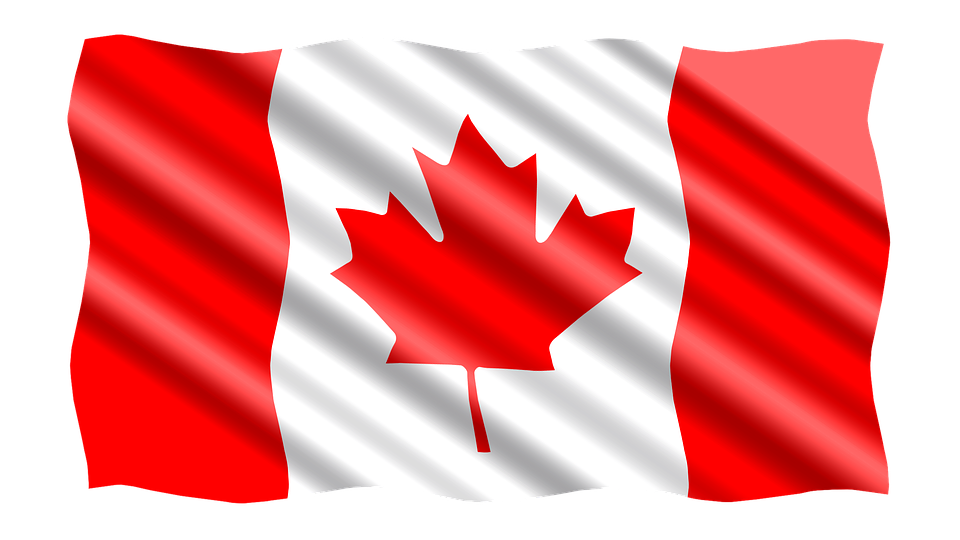 International, Flag, Canada