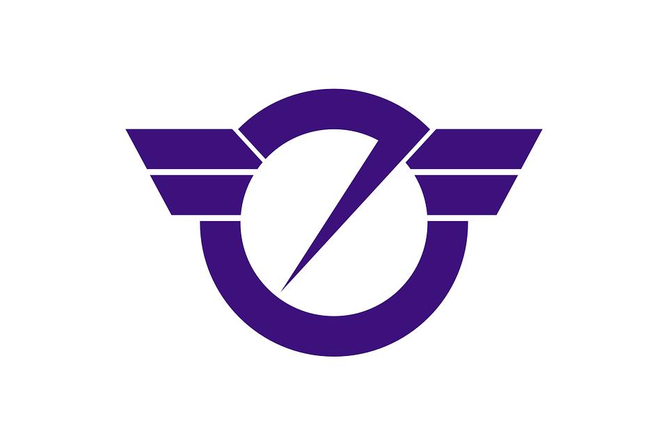 Flag, Blue, Circle, Japan, Japanese, Asia, Asian