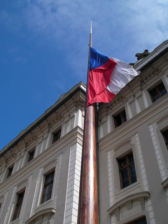 Prague, Flag, Czech Republic
