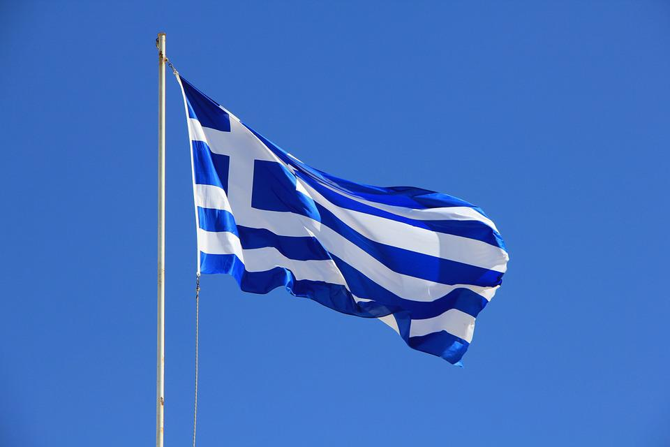 Flag, Greece, Blue, White, Greek, Greeks